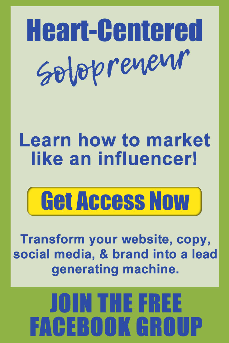 heart-centered solopreneur group