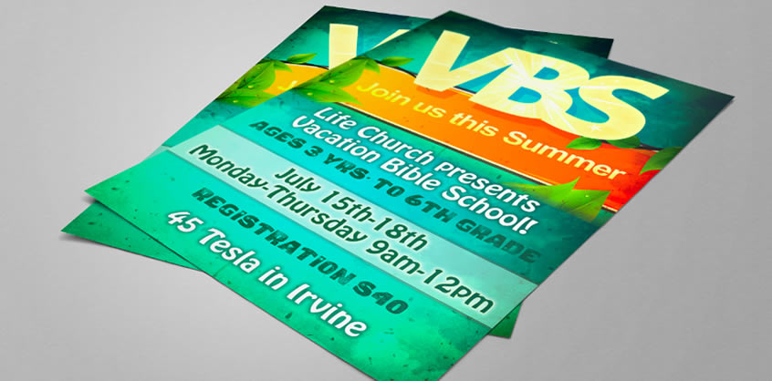 lifechurch – VBS Flyer